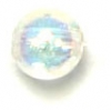 Craft Pearls Crystal Aurora Borealis 6mm